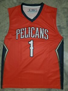 New Zion Williamson New Orleans Pelicans Jersey Red Sga Adult M Ebay