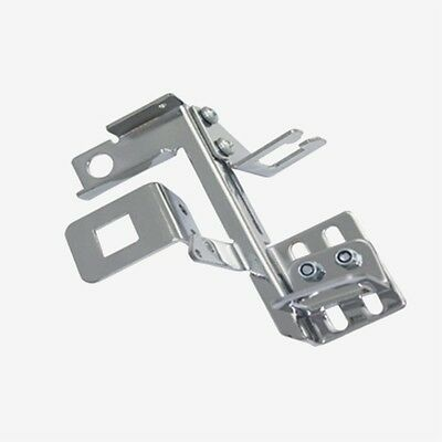 Chrome Adjustable Throttle Cable Bracket w// Kickdown Edelbrock Holley Carter AFB