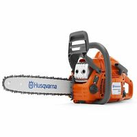 Husqvarna 135 16 Inch Bar 40.9cc 2 Hp Lightweight 2 Cycle Gas Powered Chainsaw
