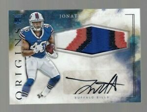 Jonathan-Williams-2016-Origins-ROOKIE-Player-Worn-4-Color-Jersey-amp-Autograph