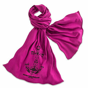 Disney-Store-Authentic-Cruise-Line-Womens-Star-Wars-Scarf-Purple-NWT
