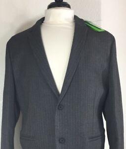 581955caf HUGO BOSS Men's Gray Grey Jacket Blazer 40R 40 R Herringbone Print ...