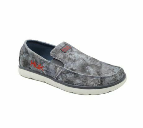 huk performance fishing brewster casual deck shoe  mens