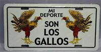 Puerto Rico Mi Deporte Son Los Gallos Flag 6x12 License Plate Sign