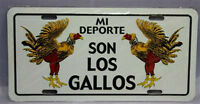 Puerto Rico Mi Deporte Son Los Gallos Flag 6x12 License Plate Sign