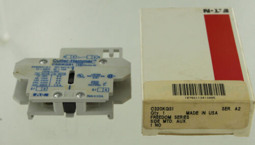 EATON CUTLER HAMMER C320-KGS1 AUXILIARY CONTACT NEW