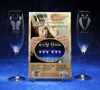 Armour Reusable Self Stick Glass Etching Stencil Kit Wedding Celebration