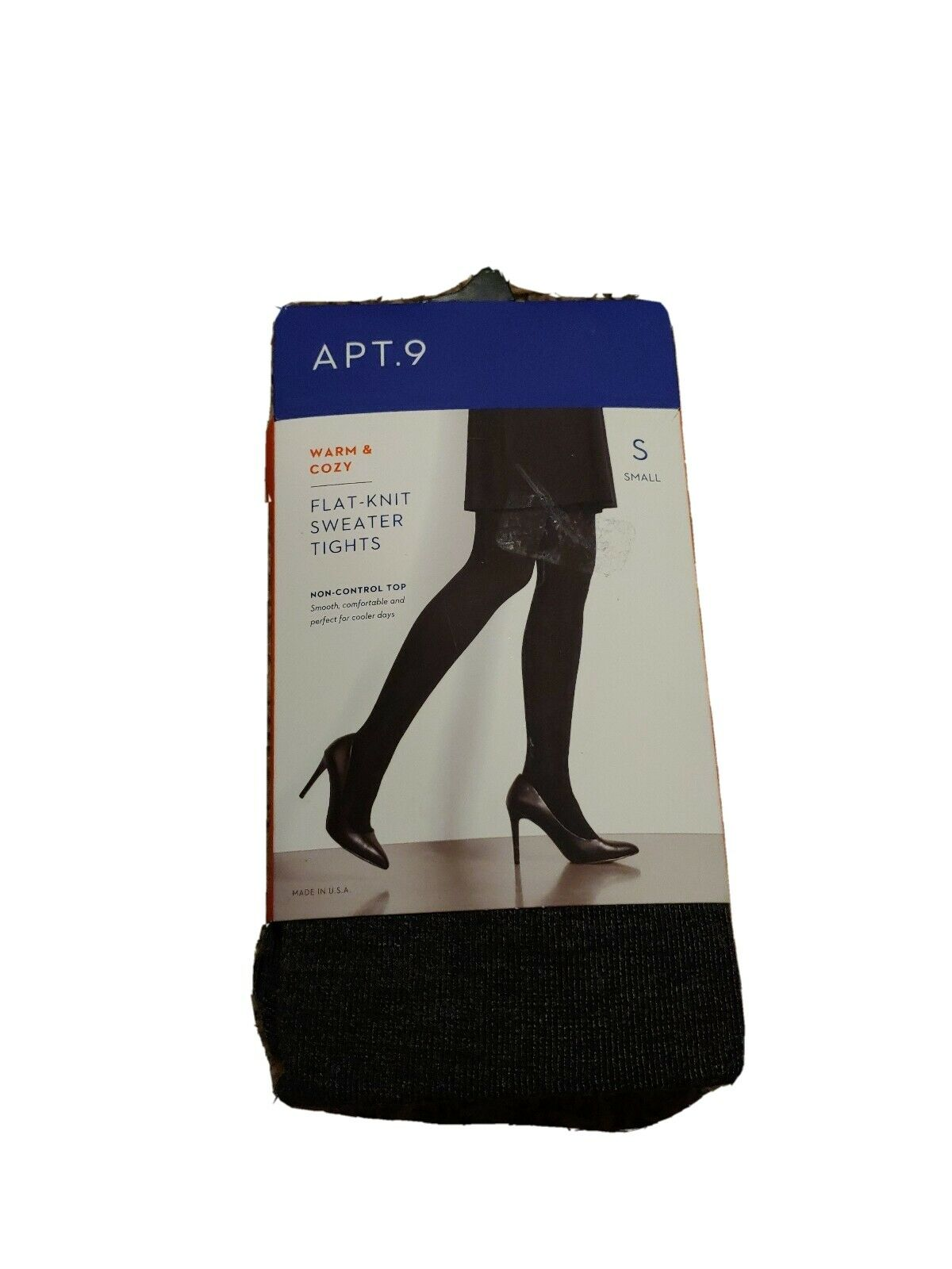Small Charcoal Heather Chevron Knit Sweater Tights By Apt 9 Kohl S Womens For Sale Online Ebay