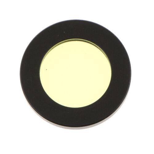 Telescope  Eyepiece 7.5mm-22.5mm Focal Length Moon Planet Filter Yellow