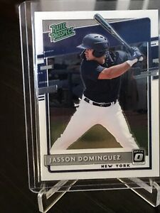 JASSON-DOMINGUEZ-2020-Donruss-Optic-Rated-Prospect-New-York-Yankees-Rookie-HOT