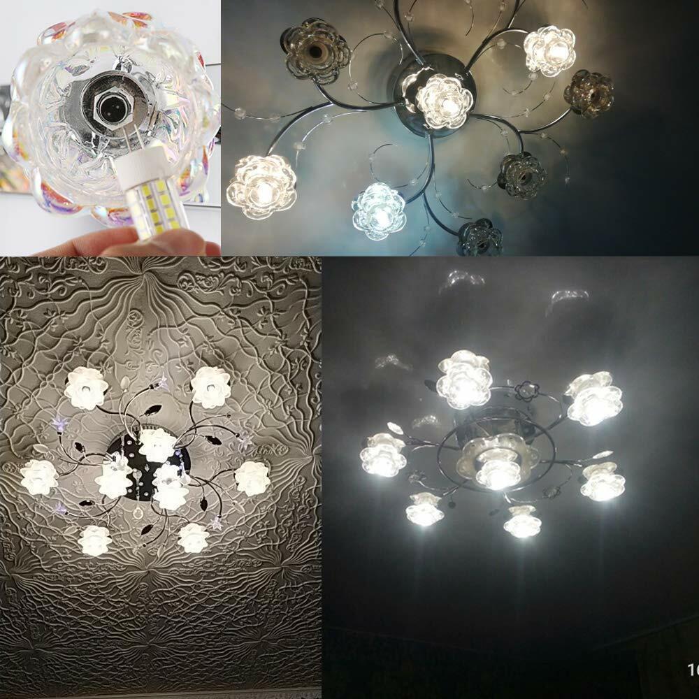 1 X Gu10 Weiß-4 LED 6W Energiesparend Punkt-Licht der Lampen-Birnen-220V W5S2