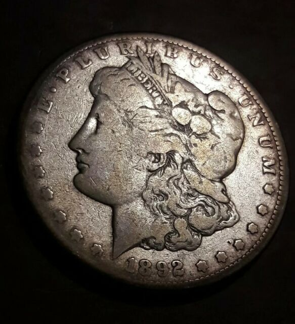 1892 S 1 Morgan Silver Dollar For Sale Online Ebay