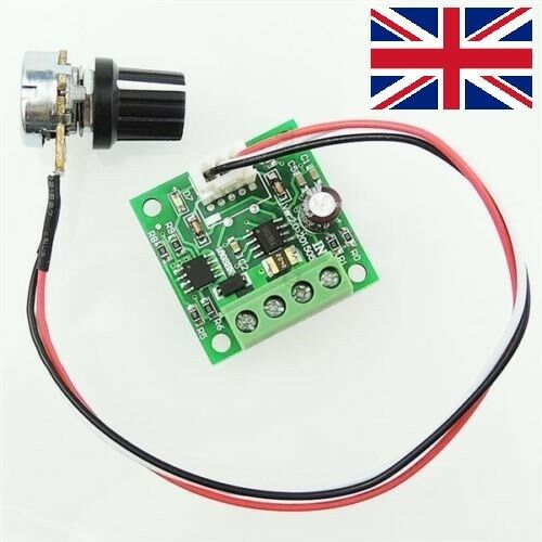 1Pcs Dc 1.8V 3V 5V 6V 12V 2A Low Voltage Pwm Motor Speed Control Ler Regulat ia