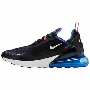 Nike Air Max 270 Mens DC1858-001 Astronomy Blue Black Running Shoes Size 13