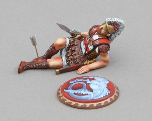 THOMAS GUNN ANCIENT GREEKS /& PERSIANS SPA030C DYING SPARTAN HIPPOCAMP SHIELD MIB
