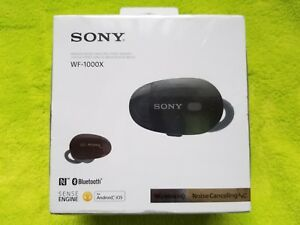 6901ab5eed2 Image is loading Sony-WF-1000X-True-Wireless-Earbuds-Noise-Cancelling-