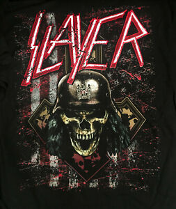 SLAYER-cd-lgo-FINAL-TOUR-Wehrmacht-Skull-Official-SLAYMERICA-039-18-SHIRT-S-3XL-OOP