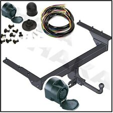 GANCIO TRAINO & ELECTRIC 13pin JEEP CHEROKEE KJ 2001 al 2008 / Swan collo FASCI BAR