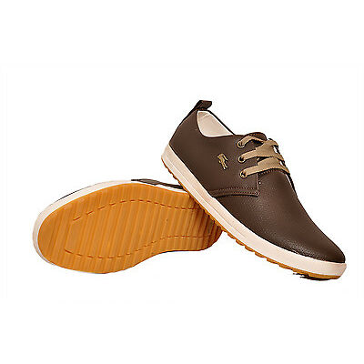 West Code Mens Casual Trendy Shoes 813-Brown