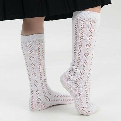 Drew Brady Girls Knee High Pelerine School Socks