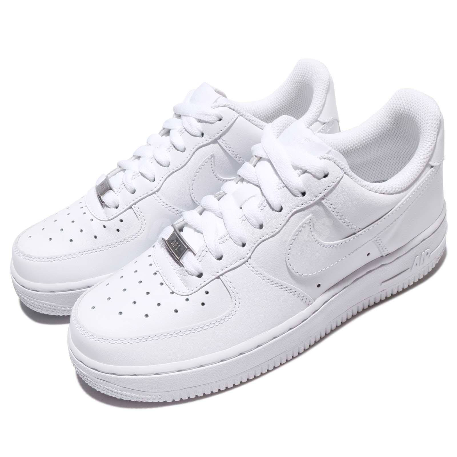 9d46d9d487bb5d Wmns Nike Air Force Force Force 1 07 Whiteout Womens Classic Shoes AF1  Sneakers 315115-