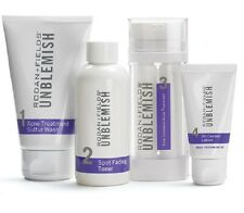 Rodan + Fields Unblemish Regimen for Acne and Post Acne Marks 4PC Set Kit