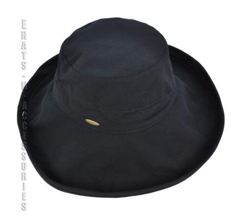 New 100/% Cotton Packable Wide Brim Floppy Outdoor Sun Cloche Bucket Hat Visor