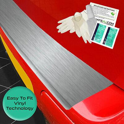 carmats4u Matt Black Vinyl Bumper Lip Protector//Self Adhesive//Easy Install Kit Included