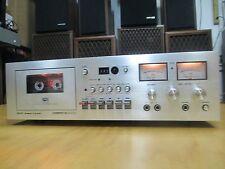 VINTAGE Akai GXC-710D Silver Face Cassette Deck