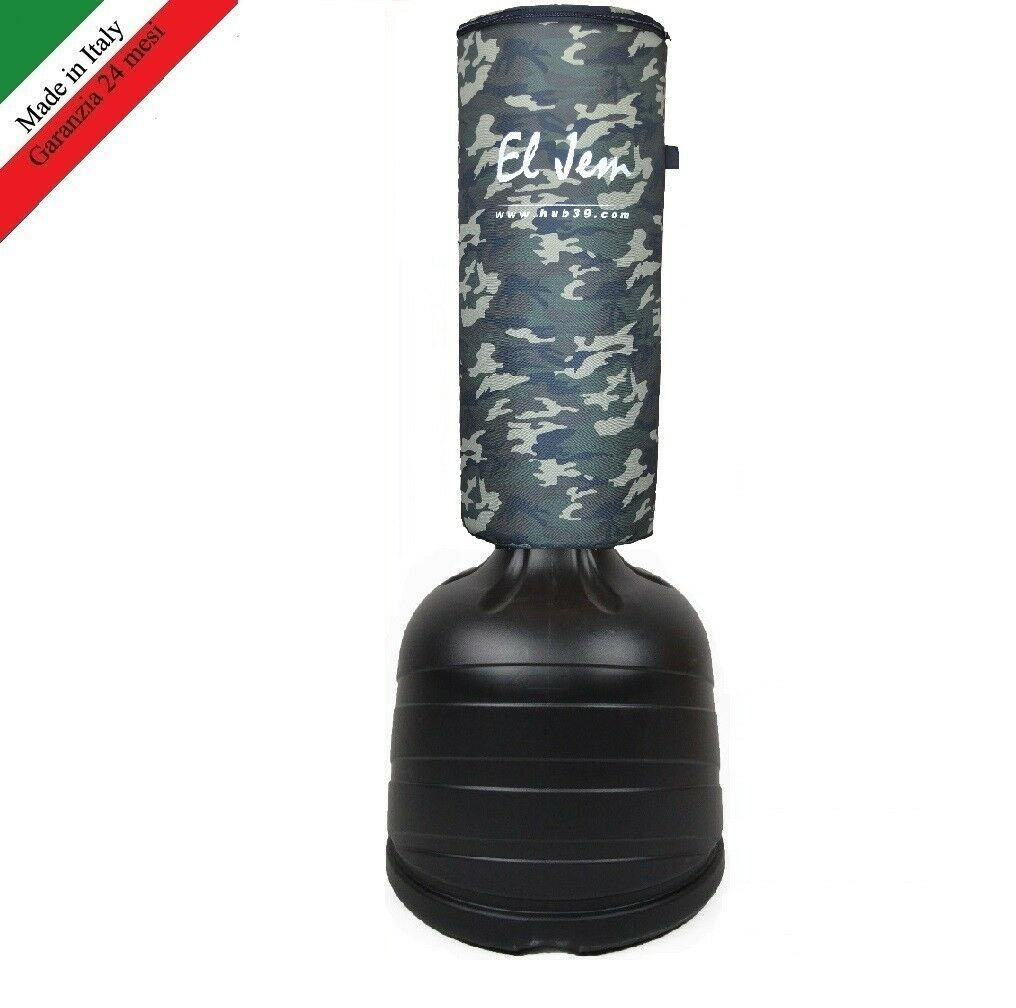 SACCO BOXE MIMETICO MIMETICO MIMETICO DA TERRA FITBOXE - SOLO BASE - SOLO CAPPUCCIO  - EL JEM 4524d0