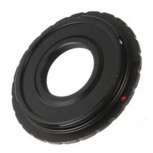 C-EOS C Mount Lens to Canon EF DSLR Camera Adapter Ring Fr 80D 70D 60D 600D 750D
