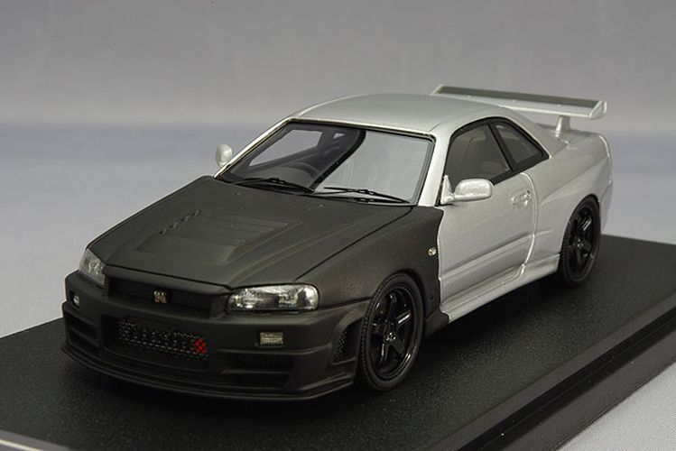 Hpi-racing 1 43 Nismo R34 GT-R Z-Tune Test 2004 Suzuka Japan