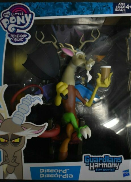 Hasbro My Little Pony Guardians of Harmony Discord Figure New in Box