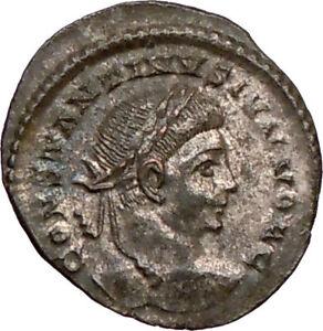 CONSTANTINE-II-Constantine-the-Great-sonLONDON-Ancient-Roman-Coin-Wreath-i20971