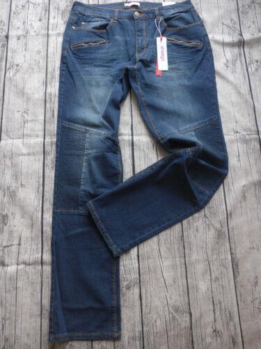 Sheego Stretch Jeans Hose Gr 44-58 Blau Ton 251 L