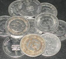 10 Coins LOT - 1994 - INTERNATIONAL YEAR OF THE FAMILY -  Re 1 Steel Coin india