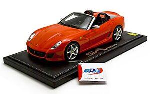 1-18-BBR-Ferrari-599-Super-America-SA-Aperta-2010-Red-Rosso-Dino-NO-MR-RARE-NEW