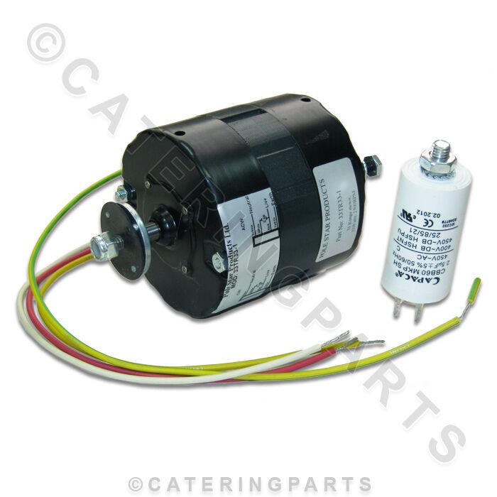 2700 RPM Gebläsemotor für Blast Kühler Gefrierschrank Hoch Speed mit Kondensator