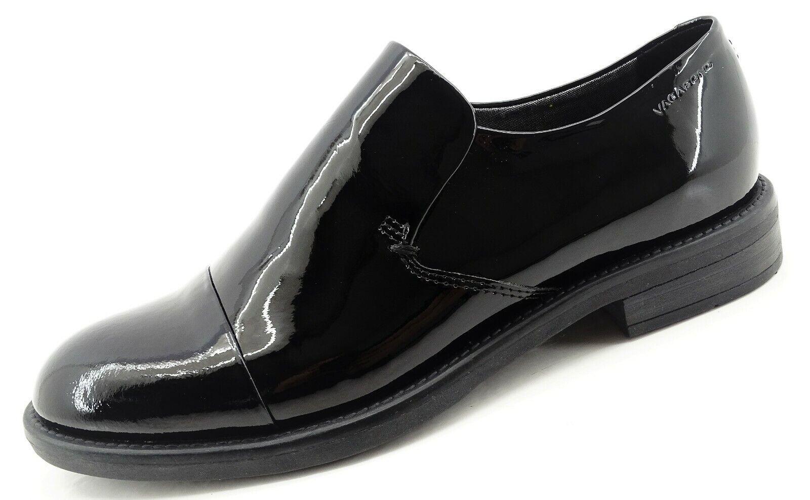 Vagabond AMINA Damen Schuhe schwarz Lack Echtleder Halbschuhe Gr 37