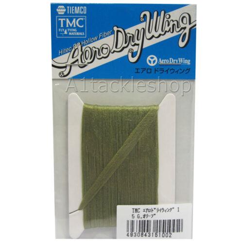 Tiemco TMC Aero Dry Wing Hollow Fiber Fly Tying Material