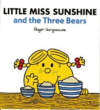NEW sparkly LITTLE MISS SUNSHINE and the THREE BEARS BUY 5 GET 1 FREE Mr Men