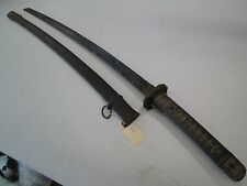 WW2 JAPANESE NCO OFFICERS SWORD WITH matching numbers on blade TO SCABBARD #L206