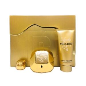 67d9cee99 Image is loading Paco-Rabanne-Lady-Million-EDP-3-Piece-Gift-