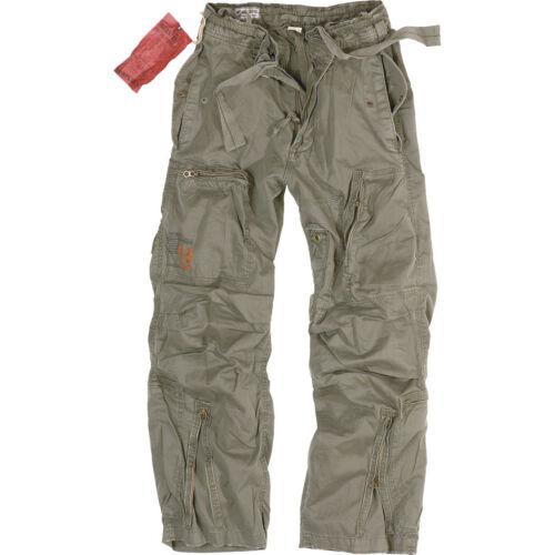SURPLUS INFANTRY CARGO HOSE 5 Farben S-XXL Army Vintage Trousers Outdoorhose NEU
