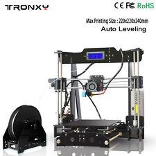 2017 NEWEST Auto level 3D printer Reprap prusa i3 DIY kits melzi+8GB Card Bundle