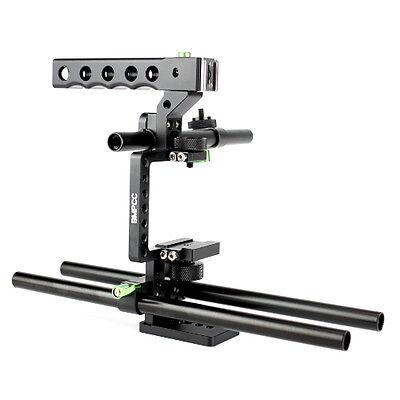 Lanparte BMPCC-01 Baseplate Cage Handle Rig for Black Magic Pocket Cinema Camera