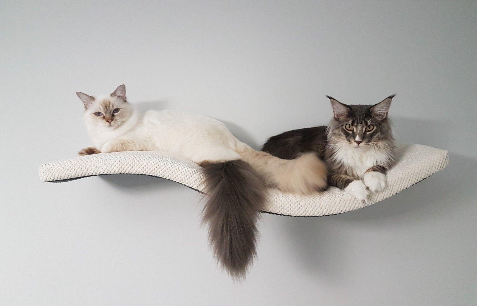 WELLE 95 UR Katzen regal Katze Wandliege Katzenliege Katzenbett Cat Shelf