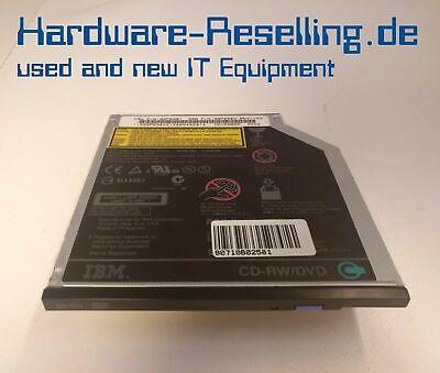 FäHig Ibm Cd/rw Laufwerk Für Lenovo Thinkpad 92p6581 Ujda745 92p6580