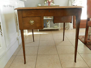 bureau double art deco 1950 1960 table secretaire