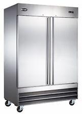 Saba Commercial Refrigerator Amp Beverage Cooler 2 Stainless Steel Doors
